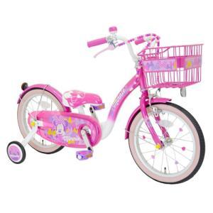 ミニーマウス  Poppin Ribbon 16インチ 完成品( 今なら自転車カバープレゼント)   アイデス ides  vehicles