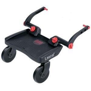 ベビーカーの後輪フレームに取り付けて、上のお子様を乗せて移動するための立脚ボードです。  □ 仕様 ...