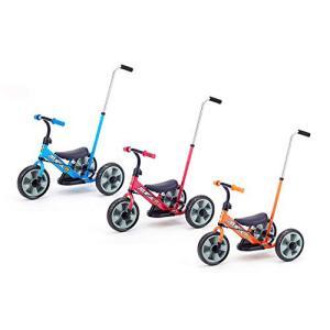 カジキリ押手棒付き三輪車からランニングバイクに変身! 成長の度合いに応じて長くお使いいただけます。 ...
