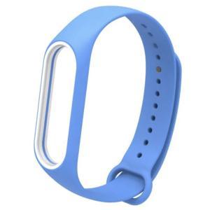 Xiaomi Mi Band3/ Band4 用の交換用カラーバンドです。  カラー:ブルー  サイ...