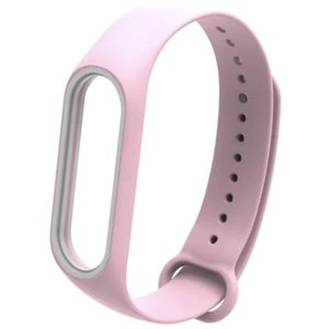 Xiaomi Mi Band3/ Band4 用の交換用カラーバンドです。  カラー:ピンク  サイ...