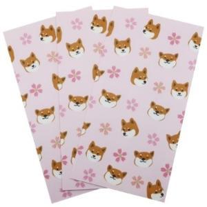 柴田さんの住む東京わさび町 金封 祝儀袋 3枚セット 柴犬 さくらしりーず 74 アクティブコーポレーション velkommen