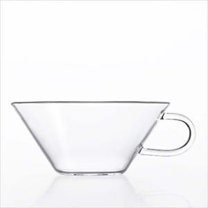 ガラスマグカップ ティーカップ/シャロウ  H-4746 アデリア|velkommen
