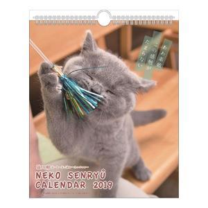壁掛け カレンダー 2019年 猫川柳 ミニ スケジュール 動物 写真 書き込み ねこ インテリア|velkommen