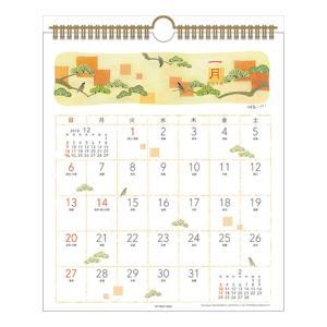 2019 カレンダー 山田衣織 壁掛け スケジュール 和風 書き込み インテリア|velkommen