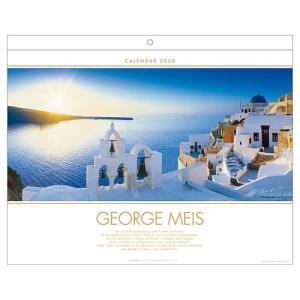 カレンダー 2020年 ジョルジュメイス George Meis 壁掛け APJ 515×415mm 海外作家 アート|velkommen