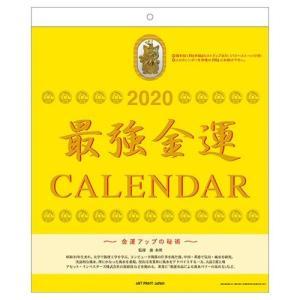 カレンダー 2020年 最強金運 タイガーアイのおまけ付 壁掛け スケジュール APJ 295×355mm 開運 書き込み|velkommen