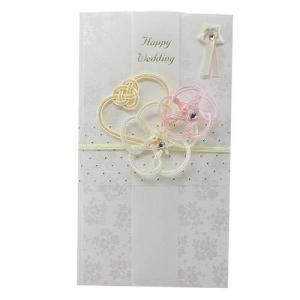 水引祝儀袋 熨斗袋 御結婚祝い ハート HS-194 APJ ハッピーウェディング 金封 お祝い袋 プレゼント 結婚祝い 出産祝い 誕生祝い|velkommen