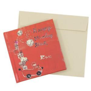 メッセージブックバースデーカード p.yuqi 誕生日おめでとうメッセージカード バースデー 誕生日ギフト プレゼント|velkommen