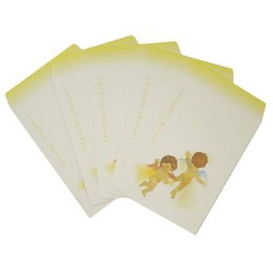 ポチ袋10枚セット ぽち袋 お年玉袋 いわさきちひろ 花の天使たち MUSEUM ART 文房具 プレゼント バースデー 誕生日ギフト お盆玉|velkommen