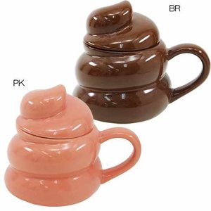 ふた付きマグ マグカップ UNCHI ウンチ ワンリーエボリューション 面白 食器 ギフト プレゼント バースデー 誕生日ギフト|velkommen