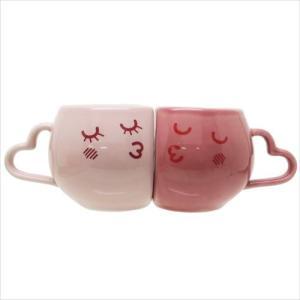 NEWペアマグ2個セット マグカップ LOVE ラブハート 東海工芸美術社 結婚祝い|velkommen