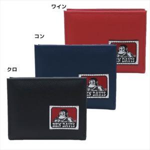 メンズウォレット L字ファスナー二つ折り財布 ベンデイビス 織りネームシリーズ アートウエルド BEN DAVIS 11×9×2cm ギフト雑貨|velkommen