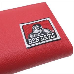 メンズウォレット L字ファスナー二つ折り財布 ベンデイビス 織りネームシリーズ アートウエルド BEN DAVIS 11×9×2cm ギフト雑貨|velkommen|04