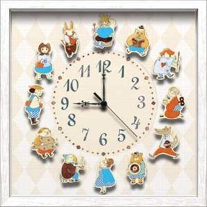 送料無料 アーティストウォールクロック 壁掛け時計 山本史 オシャレ ART WALL CLOCK 可愛いインテリア 取寄品 プレゼント 結婚祝い|velkommen