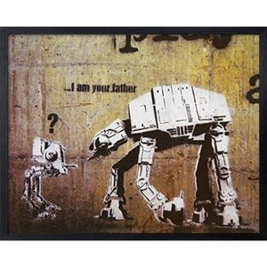 Banksy アートフレーム バンクシー I Am Your Father 美工社 IBA-61756|velkommen
