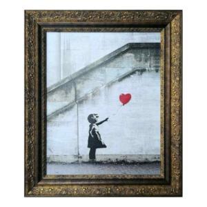 アートフレーム Banksy Love is in the Bin Limited Edition バンクシー 美工社 IBA-62203|velkommen