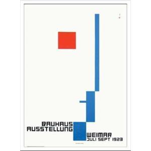 アートポスター 額付グラフィックアートポスター 絵画 インテリア Bauhaus バウハウス WeimerAusstellung1923 IBH70038|velkommen