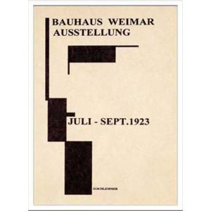 アートポスター 額付グラフィックアートポスター 絵画 インテリア Bauhaus バウハウス WeimerAusstellung1923 IBH70039|velkommen