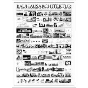 アートポスター 額付グラフィックアートポスター 絵画 インテリア Bauhaus バウハウス Architektur1919-1933 IBH70041|velkommen