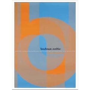 絵画 インテリア 壁掛け 額付グラフィックアートポスター Bauhaus バウハウス Archiv1966Doppelpunkt IBH70045|velkommen