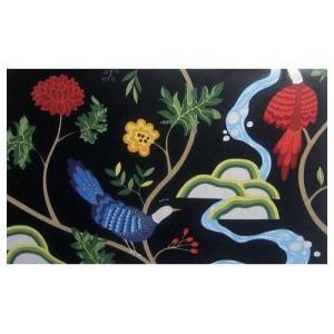 スカンジナビア アート 北欧 ファブリック アート パネル ISF-12407 インテリア パネル Scandinavian Art 90×55cm 美工社 壁掛け|velkommen