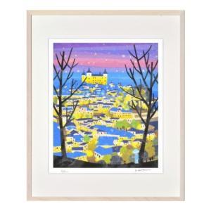 アートフレーム トレドの夜景 スペイン 空色ぼうしのお話し はり たつお 美工社 ZTH-62003 velkommen