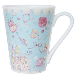マグカップ 陶器製MUG たけいみき シェル クローズピン 300ml|velkommen