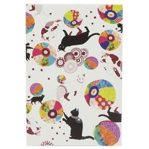 サインブック 御朱印帳 猫と紙風船 ニシコトロブルー 古澤なお クローズピン インバウンド 和雑貨|velkommen