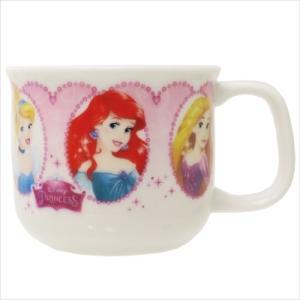 マグカップ こども マグ ディズニープリンセス Forever a Princess ディズニー 金正陶器 女の子向け 日本製|velkommen