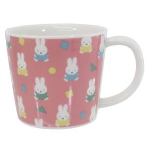 マグカップ 磁器製 MUG ミッフィー オータムカラー ピンク 金正陶器 ディックブルーナ ギフト雑貨 プレゼント 食洗機対応|velkommen