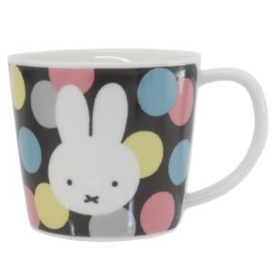 マグカップ 磁器製 MUG ミッフィー オータムカラー 水玉 ディックブルーナ 金正陶器 ギフト雑貨 プレゼント 食洗機対応 絵本キャラクター|velkommen