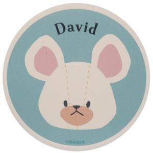 テーブルウェア 吸水 コースター くまのがっこう デイヴィッド 金正陶器 プレゼント 絵本キャラクター|velkommen
