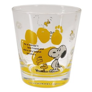ガラス コップ グラス タンブラー ピーナッツ スヌーピー スヌーピー&ウッドストック 金正陶器 260ml ギフト食器 velkommen