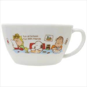 マグカップ スープ マグカップ ピーナッツ スヌーピー ハッピーシリーズ 金正陶器|velkommen
