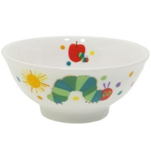 こども 茶碗 ライスボウル はらぺこあおむし エリックカール 金正陶器 ギフト雑貨 日本製 食器 velkommen