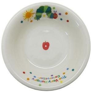 中鉢 磁器製 フルーツ皿 はらぺこあおむし エリックカール 金正陶器 ギフト雑貨 velkommen