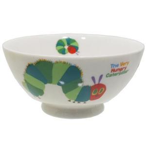 お茶碗 磁器製 ライスボウル エリックカール はらぺこあおむし 金正陶器 ギフト雑貨 velkommen