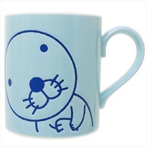 マグカップ 撥水マグ ぼのぼの ブルー 金正陶器 かわいい|velkommen