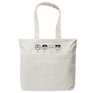 トートバッグ フロントポケット トレンド トート NEKO クラックス 猫 ネコ ねこ 手提げかばん かわいい velkommen