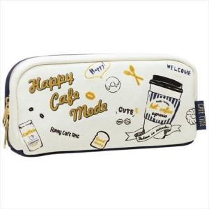 ペンポーチ ボックス ペンケース HAPPY CAFE MODE  カミオジャパン 新学期準備雑貨 筆箱 velkommen