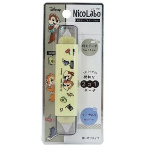 修正テープ & テープのり Nico Labo チップ&デール ディズニー クラックス 機能性文具 velkommen