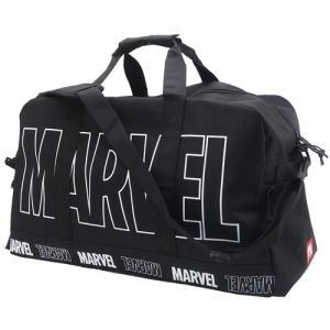 ボストンバッグ 大容量 トラベル ボストンバッグ MARVEL マーベル ビッグロゴ クラックス 57×36×26cm 旅行かばん キャラクター|velkommen