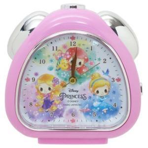 目覚まし時計 さんかく クロック ディズニープリンセス ディズニー クラックス 置き時計 新生活準備|velkommen