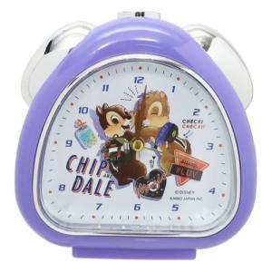 目覚まし時計 さんかく クロック チップ&デール ディズニー クラックス 置き時計 新生活準備|velkommen