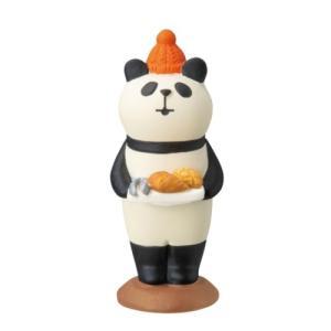 パン好きパンダ やまねこベーカリー 焼きたてパンマルシェ concombre マスコット デコレ インテリア プレゼント velkommen