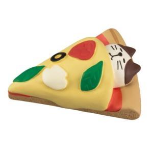 やまねこベーカリー 焼きたてパンマルシェ すやすやピザ マスコット デコレ concombre velkommen