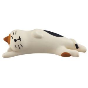 旅猫 のび寝猫 マスコット concombre デコレ インテリア プレゼント velkommen