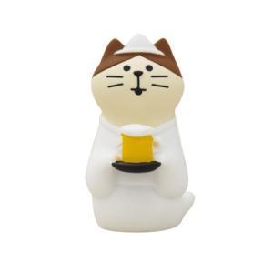 うらめしビール猫 マスコット おばけ茶屋 concombre デコレ velkommen