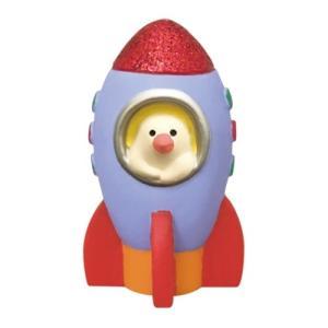 ロケット文鳥 マスコット 宇宙の旅猫 concombre デコレ インテリア velkommen